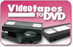 Convert VHS Tapes to DVD